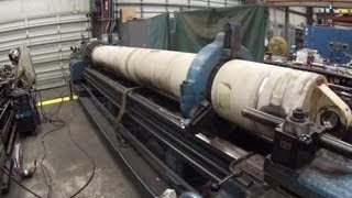 getlinkyoutube.com-Large Lathe Work
