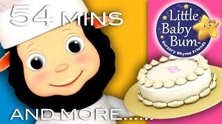getlinkyoutube.com-Pat A Cake | Plus Lots More Nursery Rhymes! | 54 Minutes Compilation from LittleBabyBum!