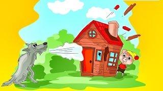 getlinkyoutube.com-Los Tres Cerditos y El Lobo - Cuento Infantil - Para niños - #