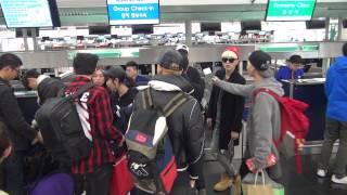 Madtown(매드타운) Leave Hong Kong Airport 20141227