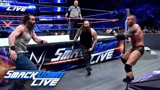 getlinkyoutube.com-Randy Orton & Kane vs. Bray Wyatt & Luke Harper: SmackDown LIVE, Oct. 11, 2016