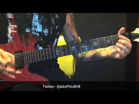"Black Veil Brides ""Legacy"" Lesson by: Jake Pitts"