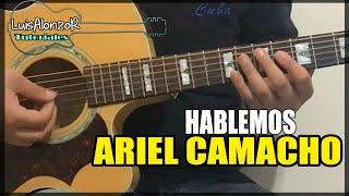 getlinkyoutube.com-Como tocar - HABLEMOS de Ariel Camacho - Tutorial Guitarra (HD)
