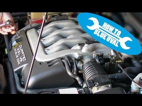 Anleitung: Ford Duratec V6 2.5l 24V - Keilrippenriemen der Wasserpumpe wechseln (Cougar/Mondeo)