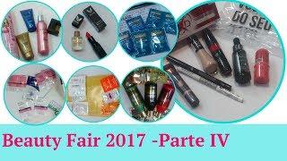 Recebidos Beauty Fair 2017 - Parte IV