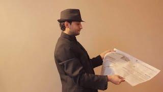 تعلم العاب الخفة #373 الجريدة الخارقة الجزء الاول. .. Newspaper magic trick revealed part 1 width=