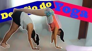 Desafio Do Yoga!! ft Alice Campos