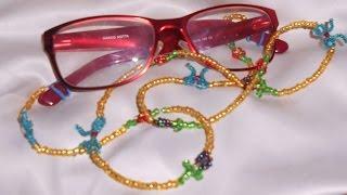 getlinkyoutube.com-CORDON DE CRISTALES PARA LAS GAFAS. CORD of crystals for the glasses