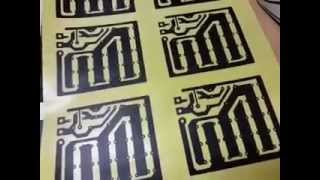 getlinkyoutube.com-Cetak PCB dengan Transfer Paper (Kertas Ajaib)