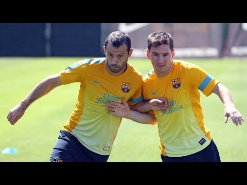 FC Barcelona - Entrenament 08/05/2013