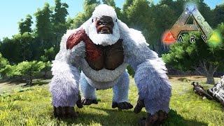 getlinkyoutube.com-MONTANDO SUPER BOSS YETI, INCREÍBLE MONO GIGANTE!! - ARK: Survival Evolved MOD