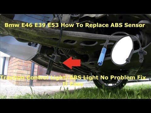 Где находится у БМВ Е39 датчик скорости