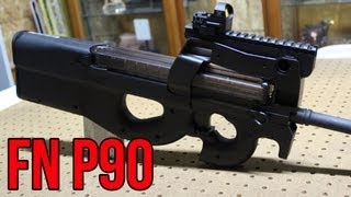 getlinkyoutube.com-FN P90 closer look & First Impressions with champion shooter, Jerry Miculek