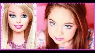 getlinkyoutube.com-Barbie Makeup Tutorial ♥