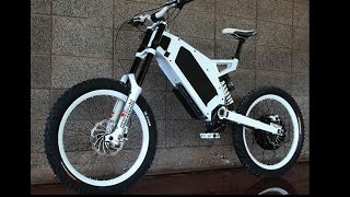 getlinkyoutube.com-Stealth Bomber Electric Bike - Russian Countryside bashing Adaptto