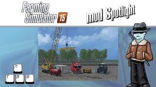 getlinkyoutube.com-Farming Simulator 15 Mod Spotlight - Crane Bridges and a Sweet Fendt