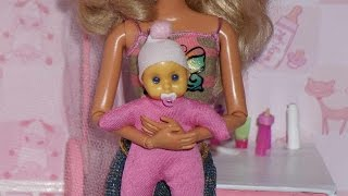 getlinkyoutube.com-How to make a baby bottle and pacifier for doll (Monster High, EAH, Barbie, etc)