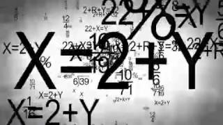 Hectic Math Motion Background