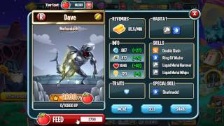 getlinkyoutube.com-Metaselach Monster In Monster Legends Level UP Fast Review And Fights