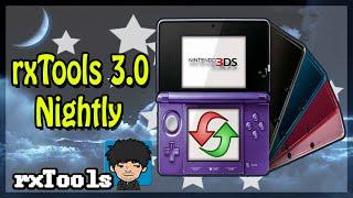 [3DS] rxTools 3.0 Nightly - Bugs Corrigidos (Atualização)