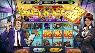 getlinkyoutube.com-Jackpot Winner 40k Gold- [Legendary Mutant Slots] Mutants: Genetic Gladiators