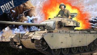 getlinkyoutube.com-CENTURION TANK FAIL MONTAGE! - War Thunder Tanks Gameplay