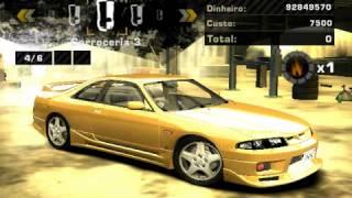 getlinkyoutube.com-Tunando a Nissan Skiline R33 no Need For Speed Most Wanted - Parte 1