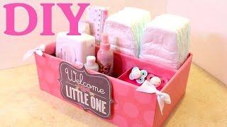 getlinkyoutube.com-Caja organizadora para Bebes -  Baby -  Organizer - Reciclando Bolsas de Papel