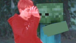 Minecraft In Real Life | MOB Trolling