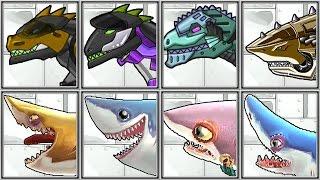 getlinkyoutube.com-Dino Robot Corps + Hungry Sharks - Full Game Play - 1080 HD