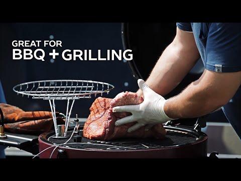Char-Grillers AKORN Kamado -   Unboxing & Pulled Pork