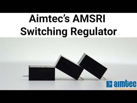 Aimtec's AMSRI Switching Regulator