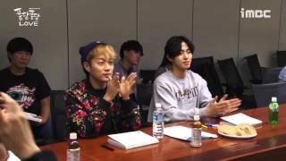 getlinkyoutube.com-BEAST 비스트 Yoon Doojoon Mini Drama 2015 Splash Splash LOVE Script Reading