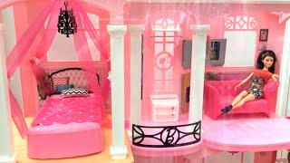 getlinkyoutube.com-العاب بنات بيت باربى العملاق باربى وبيت الاحلام  بيت كامل لعام 2015 Barbie Dollhouse Dream house