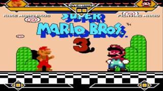 getlinkyoutube.com-MUGEN - Rare Mario (SMB1) VS. Fighting Mario (SMW)