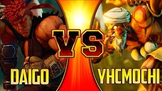 SFV ▰ Daigo Umehara Vs YHCmochi First To 10【Best Dhalsim? FT10】Street Fighter V / 5