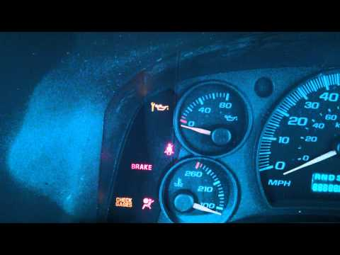 How to Reset Oil light on a GMC Savana 2003 and up, Chevy Express