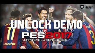 getlinkyoutube.com-[สอน] How to Bypass PES 2017 Demo and Unlock all Teams on PC 100% worked By Songbycondo