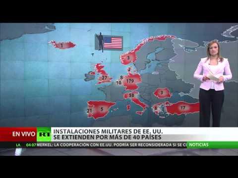Mapa: Conozca todas las instalaciones militares de EE.UU. en Europa
