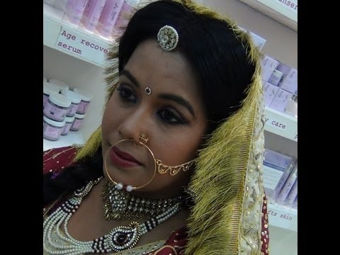 Indian Bridal Makeup - Rajasthani Bridal Makeup
