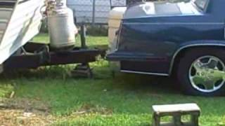 how to move an RV  country style...