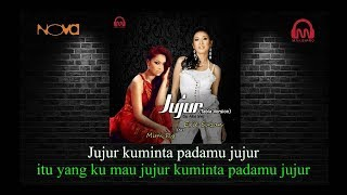 JUJUR - ERIE SUZAN FT MIMY FLY karaoke download ( tanpa vokal ) cover