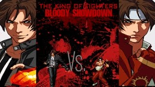 getlinkyoutube.com-[KOF BS] Coliseum Roses: Kyo Kusanagi VS Classic Kyo