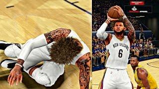 getlinkyoutube.com-NBA 2K16 MyCAREER Playoffs - CFG5   HARRISON BARNES GETS HIS ANKLES BROKEN! CRAZY FLAGRANT FOUL!