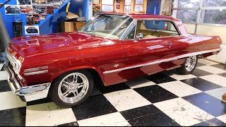getlinkyoutube.com-1963 Chevrolet Impala Street Rod Steve Holcomb Pro Auto Custom Interiors