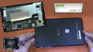 getlinkyoutube.com-Disassembly Acer Iconia one 7 Repair B1-730 HD open zerlegen Guide