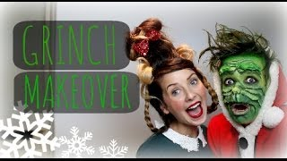 getlinkyoutube.com-THE GRINCH MAKEOVER WITH ZOELLA | ThatcherJoe