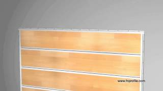 getlinkyoutube.com-Deco Shelf - Installation von Laminat oder Parkett an der Wand