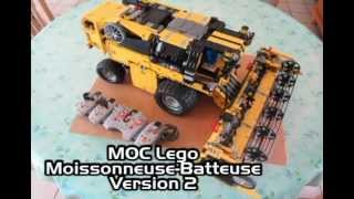 getlinkyoutube.com-MOC Lego Moissonneuse-Batteuse / Combine Harvester