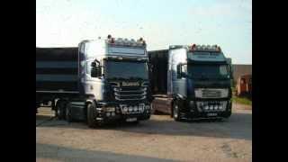 getlinkyoutube.com-Oostdam Metall Scania R730 & Volvo FH16 700